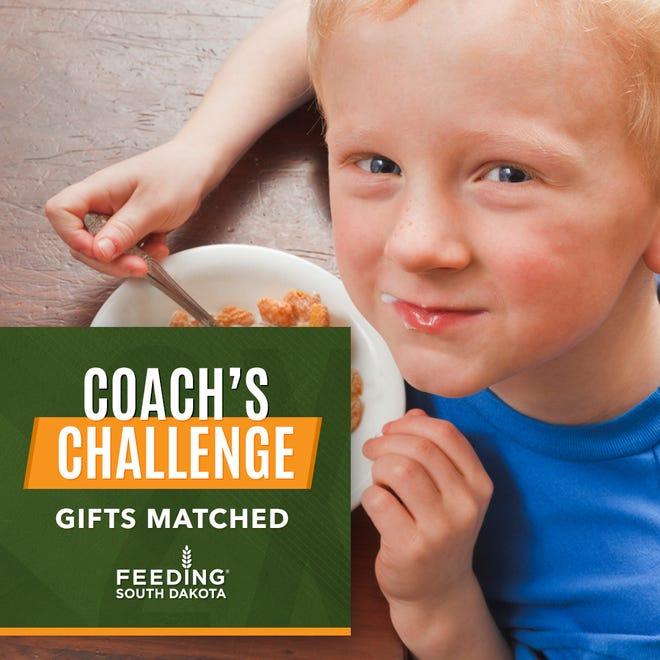 Coach's Challenge by Feeding South Dakota