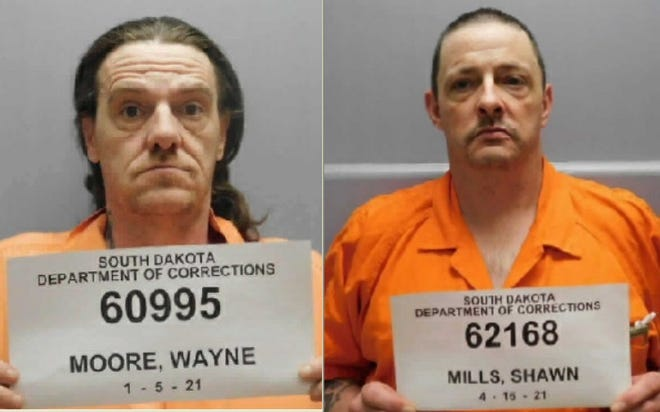 Wayne Moore (LEFT) and Shawn Mills (RIGHT)