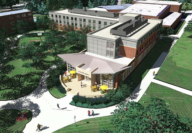 Augustana University plans to break ground Tuesday afternoon on a $50 million housing project to create a new 200-bed residence hall north of Bergsaker Hall and east of Solberg Hall. Construction will begin this summer, and completion of the project is set for fall 2022.