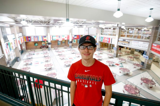 Central High School seniors Colin Pulis (pictured) and Hunter Kimberlin-Poore scored a perfect 36 on the ACT. Unfortunately, Kimberlin-Poore was not available for the photo.