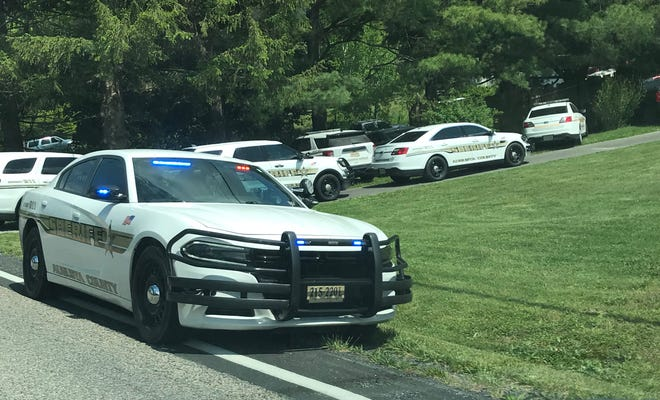 The Augusta County Sheriff's Office responded to a home Tuesday afternoon on Parkersburg Turnpike.