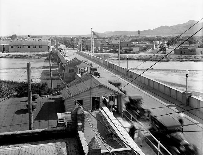 Undated photo of the Santa Fe Street bridge.