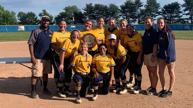 The Rowan College of South Jersey-Cumberland softball team captured the Region XIX championship last weekend.