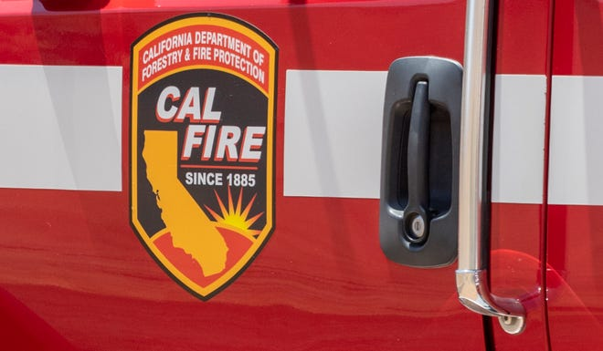 Crews from the Tulare Unit of Cal Fire participated Monday, May 17, 2021 in the annual readiness drill. Three-man crews took turns practicing several actions including mobile attacks, 1,000-foot hose lays up Rocky Hill, preparing equipment for use, and handling injured firefighters.