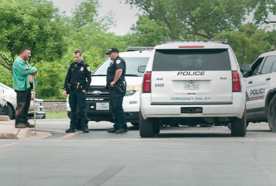 Wichita Falls Police talked to a reported stabbing victim Tuesday afternoon after responding to a report of an assault with a weapon at an address on Kenley Avenue.