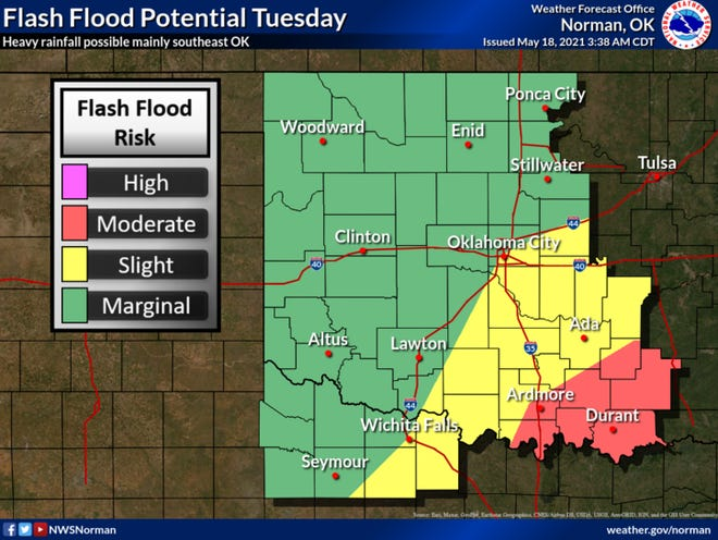 North Texas remains in a Flood Watch until Wednesday morning.