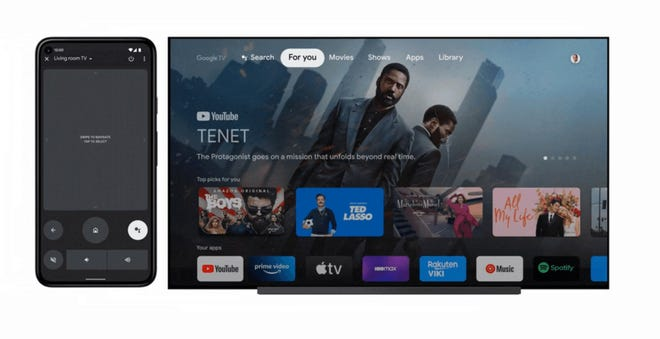 Users of more than 80 million Android TV OS devices including Google TV will soon be able to use their Android phone as a TV remote.