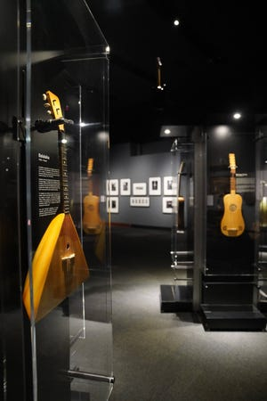 """""""Guitar: The Instrument That Rocked the World,"""" a new exhibit at the Bullock Texas State History Museum, explores the history and cultural impact of the guitar."""