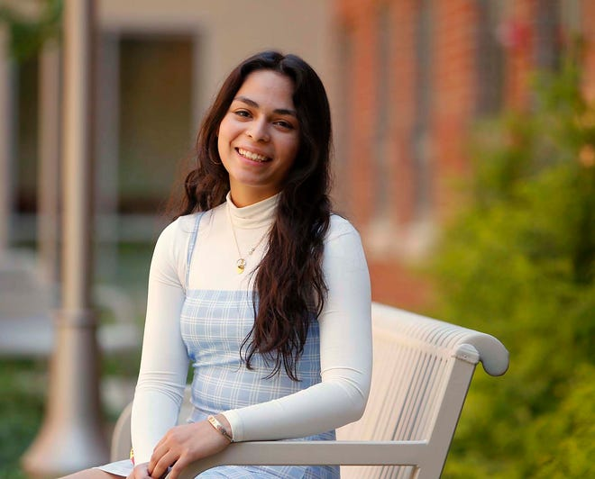 Helen Trujillo, a Firestone high school student, is this year's top Star Student.