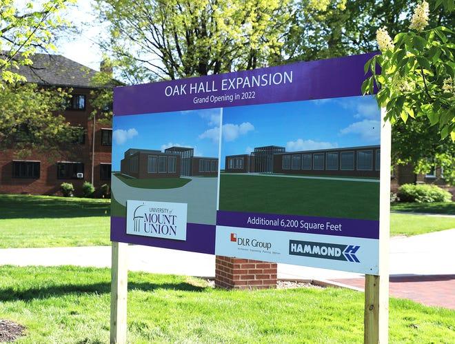 Oak Hall expansion rendering