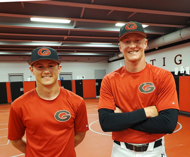 Senior outfielder Tucker Hanson and pitching ace Easton Johnson hope to lead Gilbert to the Class 3A state baseball championship this summer after placing second a year ago.