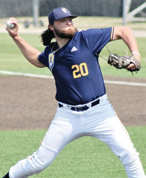 Relief pitcher Team Hackler delivered a crucial inning of relief to help propel Oklahoma Wesleyan into the finals of its NAIA baseball regional tournament.