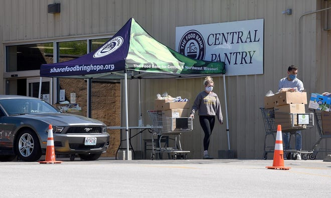 The Central Pantry of the Food Bank of Central and Northeast Missouri, pictured here on Big Bear Boulevard, will move to Business Loop 70 West in 2023, which could impact the accessibility of the pantry. That portion of the loop does not have a bus route.