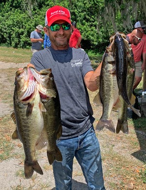 Timmy Helms, fishing solo had 20.08 pounds and a big bass weighing 6.00 pounds to win the Polk County Bass Assassin's tournament May 15 on John's Lake.