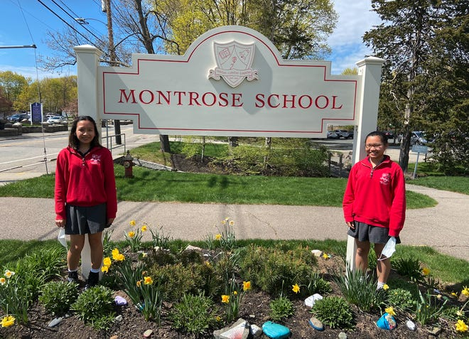 Elizabeth Barrett and Elyza Tuan, both Montrose School class of 2023, recently won first place in Senior Group Performance in Massachusetts' annual National History Day competition, held virtually in April.