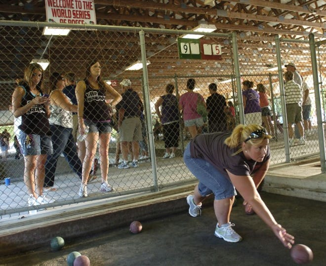 The World Series of Bocce event held  at the Toccolana Club in Rome every summer is canceled again this year.