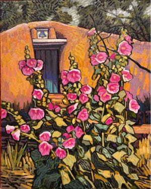 """Brad Price's show """"Southwest Expressions"""" is on view through July 3."""