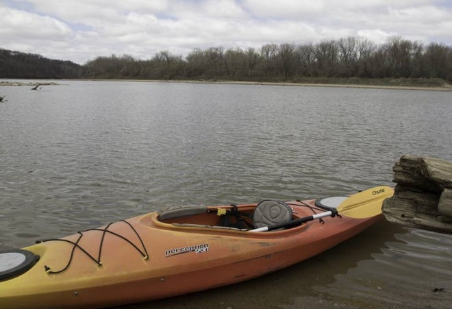 People can learn the basics of kayaking at a free Missouri Department of Conservation clinic on June 5 at Towell Lake at Little Prairie Conservation Area in Phelps County.