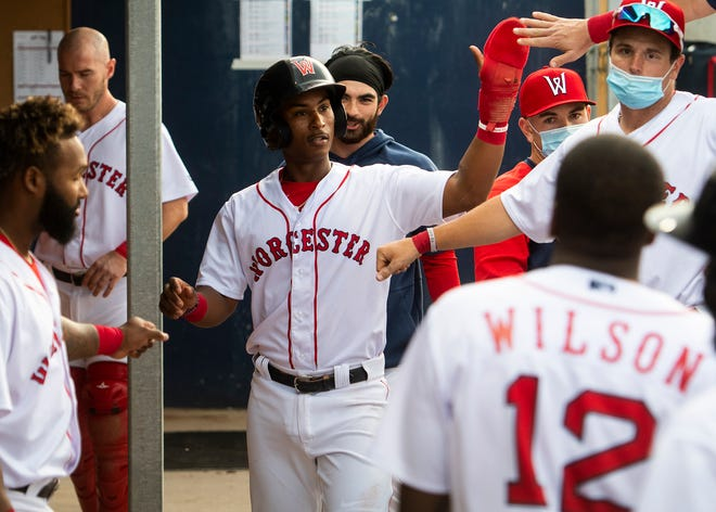Jeter Downs homered twice Sunday to help power the WooSox past the Syracuse Mets for a road series sweep.