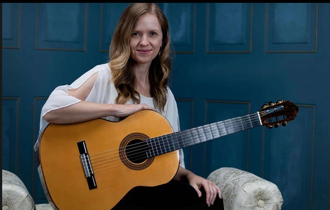 """Significant women in the history of guitar are the focus of a series of essays by Shepherd University adjunct music professor Dr. Candice Mowbray in the current and upcoming issue of the Guitar Foundation of America's """"Soundboard"""" magazine."""