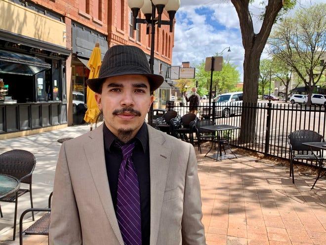Elvis Martinez, 28, is running for Pueblo City Council in District 1.
