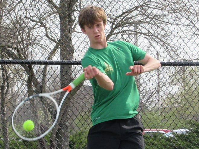 Max Fickas and the Jerome boys tennis team went 14-2 this season. The Celtics lost 3-1 to New Albany in the Ohio Tennis Coaches Association Division I district final May 18 at Coffman.