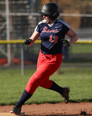 Junior Kassy Stefanski is expected to be one of the top returnees for the Centennial softball team. She tossed a no-hitter in the season finale as the Stars finished 14-7 overall and 12-2 in the City-North.