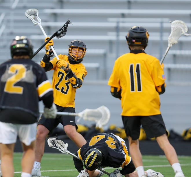 Upper Arlington senior Tanner Gillie had 21 goals and eight assists through 18 games.