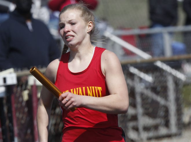 Estella Truax helped the Big Walnut girls track and field team capture the OCC-Capital Division championship May 15 at Westerville North.