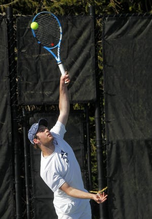 Wellington's Evan Manley teamed with Braysen Chawla to win a Division II sectional doubles title May 15 and competed in the district tournament May 20 and 22.