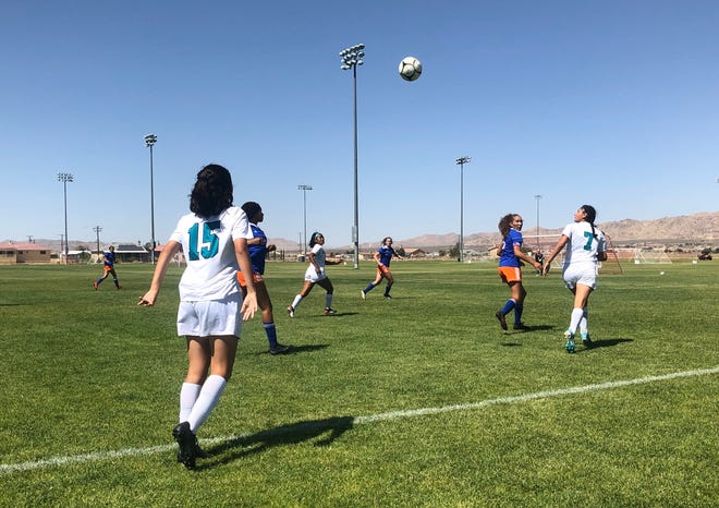The AAE girls soccer team's season came to an end Tuesday afternoon in the quarterfinals of the CIF-Southern Section Division 7 playoffs with a 1-0 overtime loss to Canyon Springs.