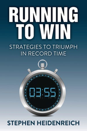 """""""Running to Win: Strategies to Triumph in Record Time"""" is the new book written by Stephen Heidenreich of Watertown, a 1971 Watertown High School graduate and standout distance runner who suffered a traumatic brain injury after being stuck by a hit-and-run driver in 1976 while training for the U.S. Olympic team. The book offers step-by-step strategies and tools to succeed in business, athletics and school."""