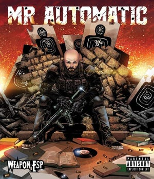 """The cover to  Weapon E.S.P.'s new album, """"Mr. Automatic."""""""