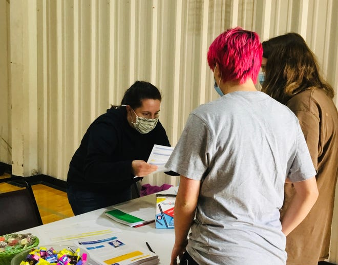 Madison County Schools and Madison County Health Department hosted a vaccine clinic for students ages 12-15 on May 13 at Madison Middle School.