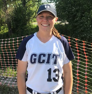 Gloucester County Tech's Alex Lowry has put up big numbers at the top of the lineup for the softball program.