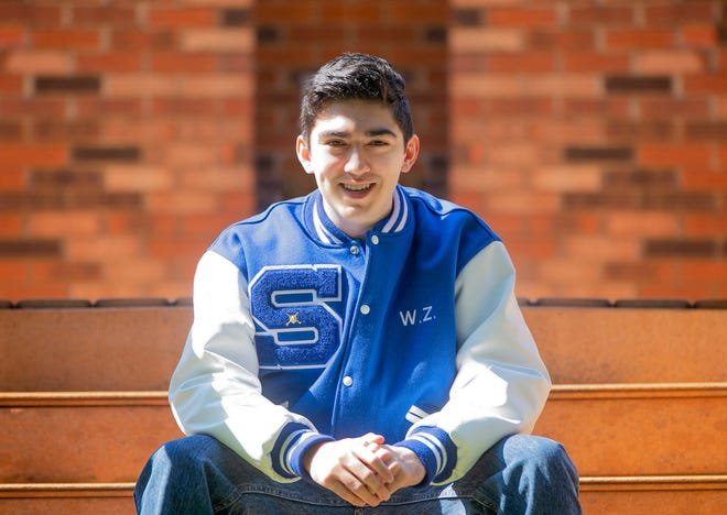 Walker Zapata is a 2021 graduate of Southeastern High School. In January, he lost his mother to breast cancer. Now, he wants to go to pharmacy school to help others.