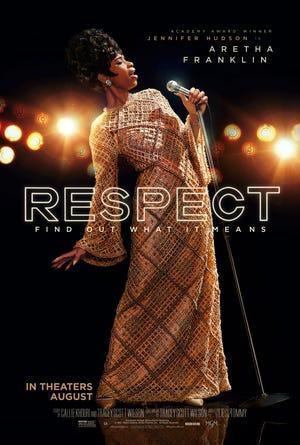 """Official poster for """"Respect"""" starring Jennifer Hudson."""