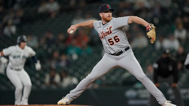Spencer Turnbull throws Detroit Tigers' eighth no-hitter against Mariners, 5-0