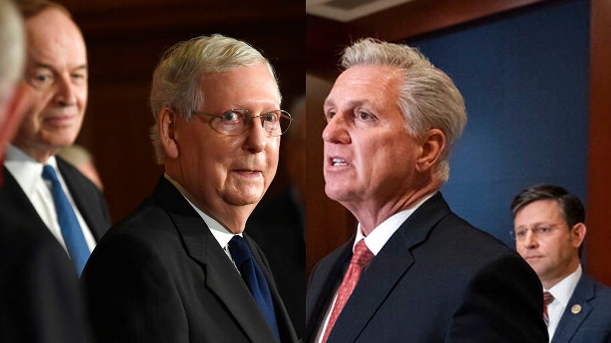 Republican leaders turn against bipartisan Jan. 6 commission 3