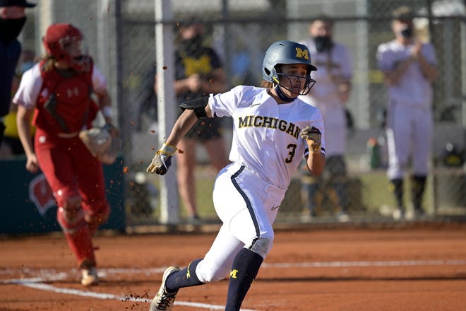 Michigan's Lexie Blair took home the Big Ten's top honor on Wednesday.