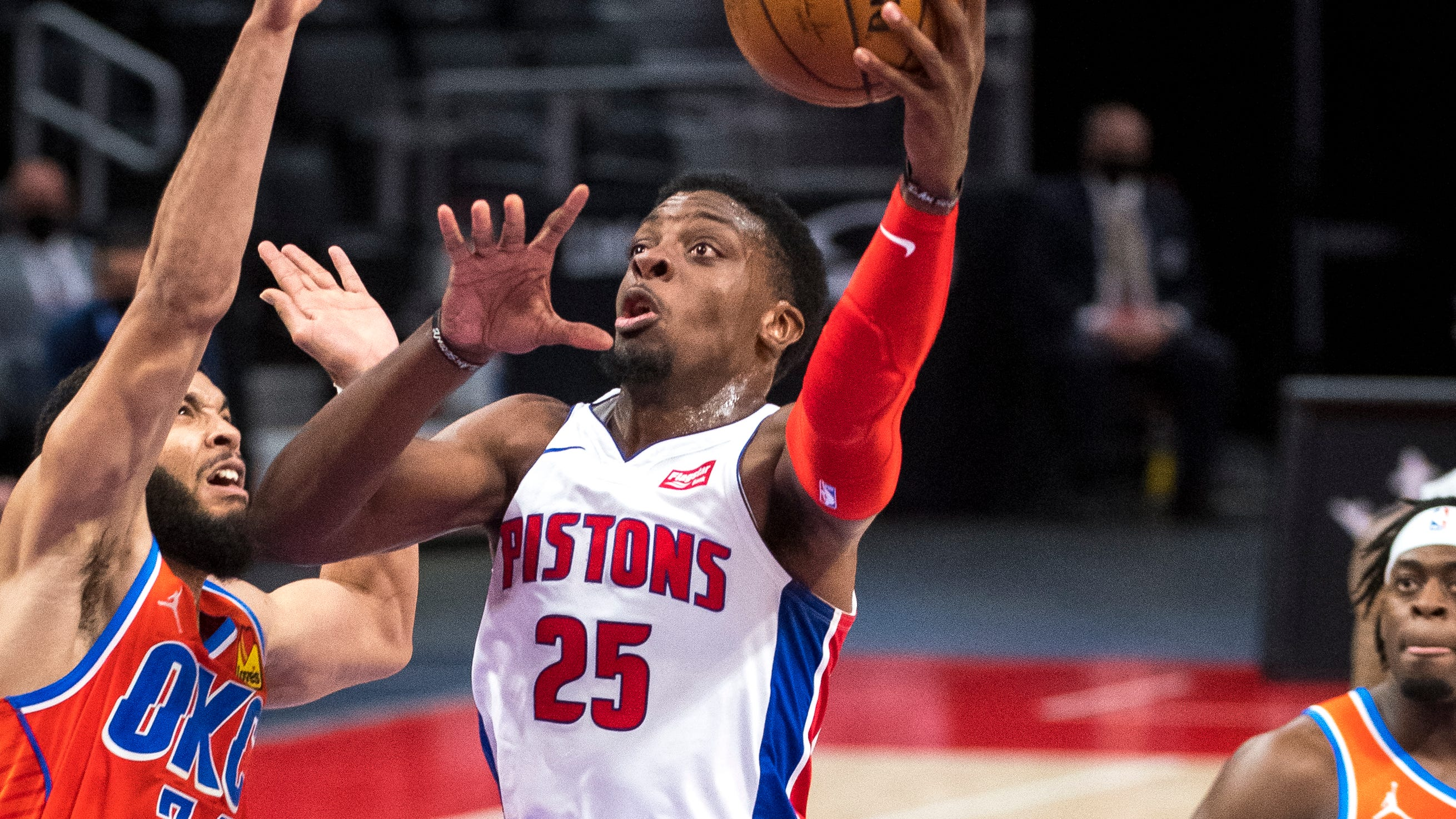 Tyler Cook grateful for NBA chance, hopes to stay with Detroit Pistons