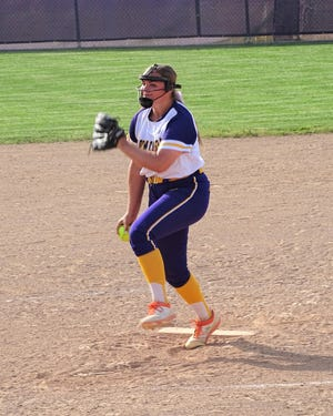 Bloom-Carroll junior pitcher Lexi Paulsen fired a one-hitter and struck out 18 batters in a 4-0 Division II district semifinal win over Granville on Tuesday.