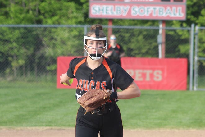 Lucas' Gabby Smith was a second team All-Northwest District selection in 2021.