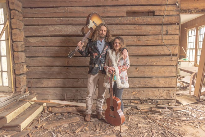 Johnny and Beth Veres of the band Electric Blue Yonder.
