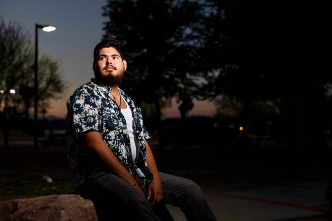 The first in his family to go to college, David Alvarado had scholarships to pay his tuition and an on-campus job writing a column for the school newspaper. Then the COVID-19 pandemic hit. The Cathedral City native said hismother, expecting him to be livingat college, moved to a smaller place.Alvarado, with nowhere else to go,wound up sleepingon his grandparents' couchas he waitedforhiscampus to reopen.