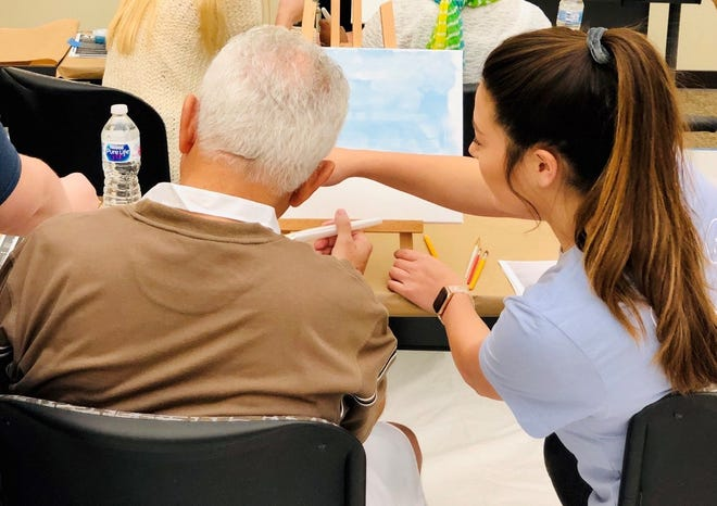 Strokes for Stroke offers art therapy to locals that may improve hand function while providing an outlet for their creativity and emotions.
