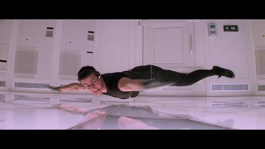 'Mission: Impossible' at 25: Watch Tom Cruise's Ethan Hunt break into the CIA vault