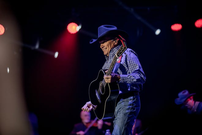 Never seen King George live? ACL Fest is your chance. George Strait headlines Friday night.