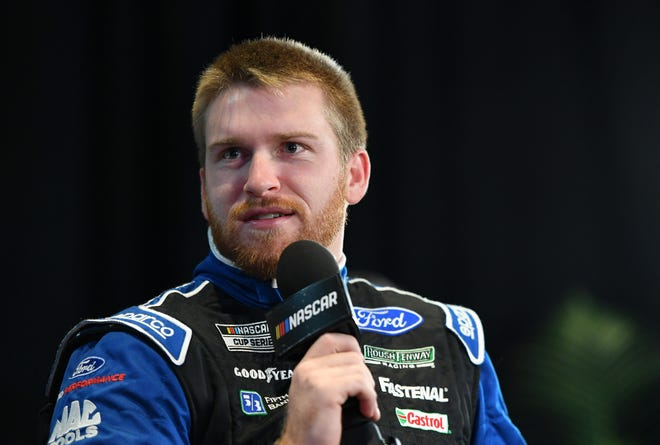 NASCAR Cup Series driver Chris Buescher will be the only native Texan racing in this weekend's EchoPark Texas Grand Prix at Circuit of the Americas. The Prosper native's parents live in Northwest Austin now.