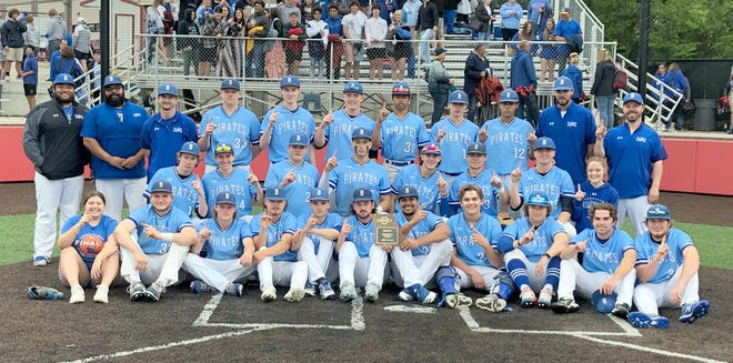 The Boonville Pirates baseball team captured the championship in the Class 4 District 7 Tournament by beating Wright City 3-0 Wednesday night in Ashland. The Pirates, 16-5 on the season, will move on to the sectional round of the state playoffs on Tuesday, May 25 at Twillman field in Harley park.